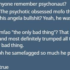 What people think about angfag (An Ongoing Series)