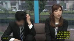 彩奈リナ マジックミラー号 女上司が秘かに恋心を抱く男性部下と野球拳!