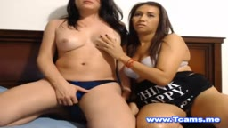Hot Busty Shemale Play Time with Hot Babe