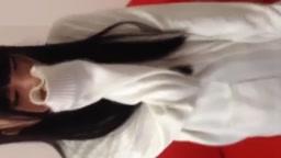 素人の黒髪制服美少女JKが慣れない援助交際で生中出しに泣き顔