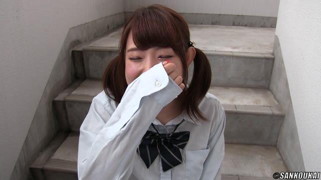 ロリボインな女子中学生がお風呂でギンギンチンポを慣れない手つきで洗体の校生系動画