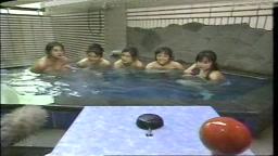 昔のテレビ番組 温泉でクイズ