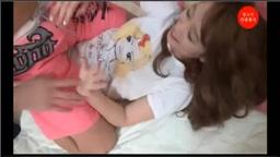 韓国の巨乳お姉さんが敏感な足の裏をこそばされて気持ちよくて喘ぎ悶える