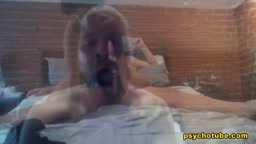 Cheerful And Horny Couple Fetch A Sexually Lewd Performance Live
