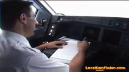 streap hotesse de l'air dans l'avion - F94